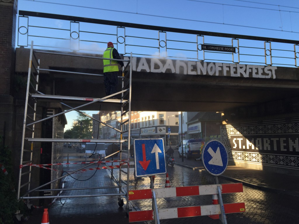 Graffiti verwijderen Nijmegen