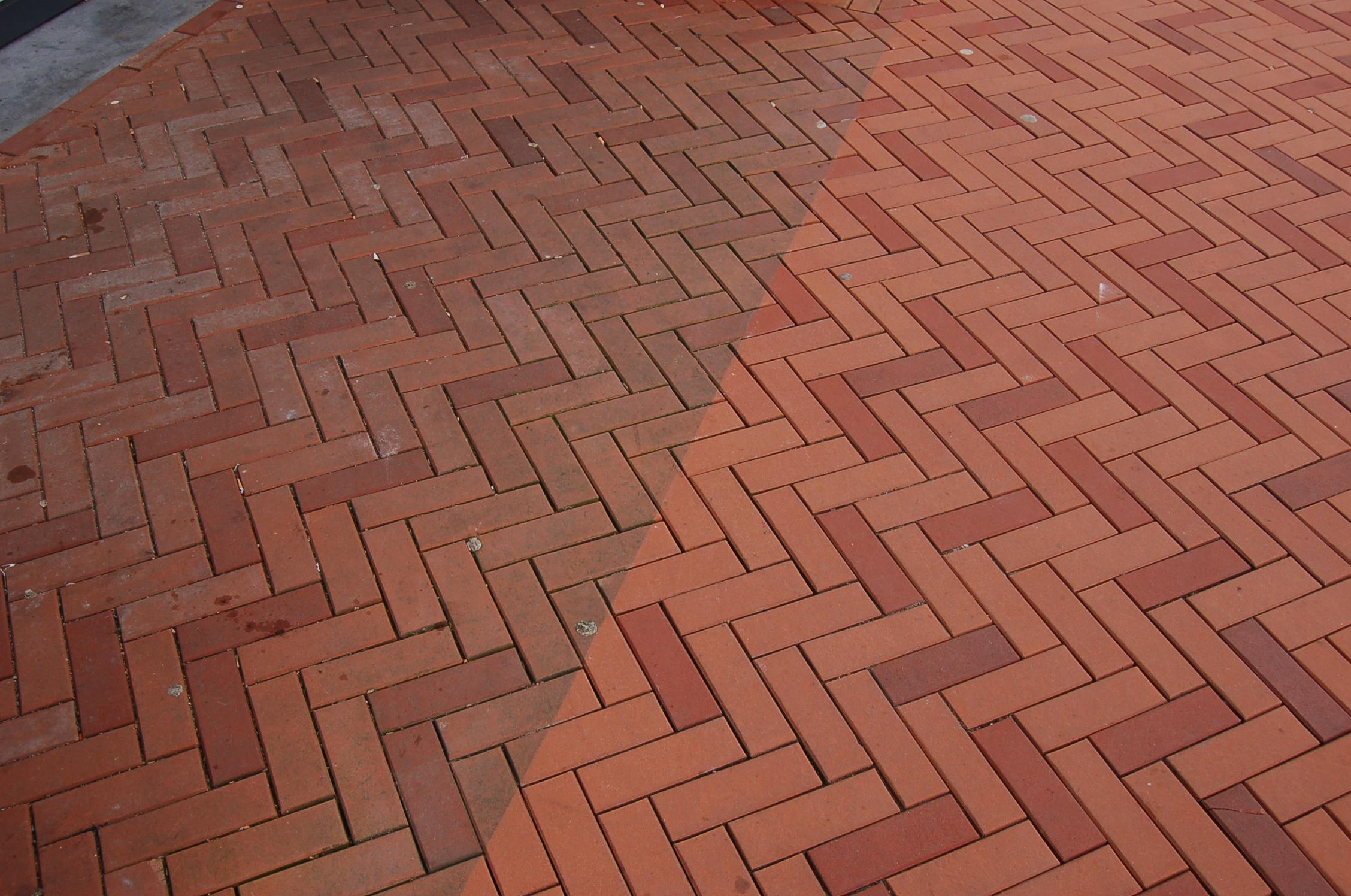 Straatwerk Schoon  Vuil