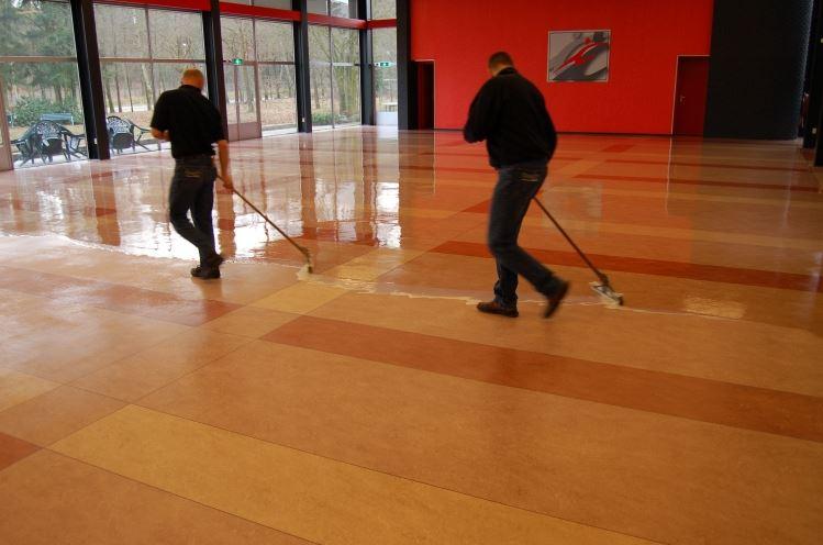 Marmoleum vloer reinigen nijmegen chem dry doornenbal
