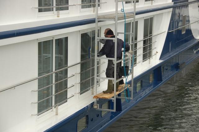 Professionele Cruiseschip Reiniging