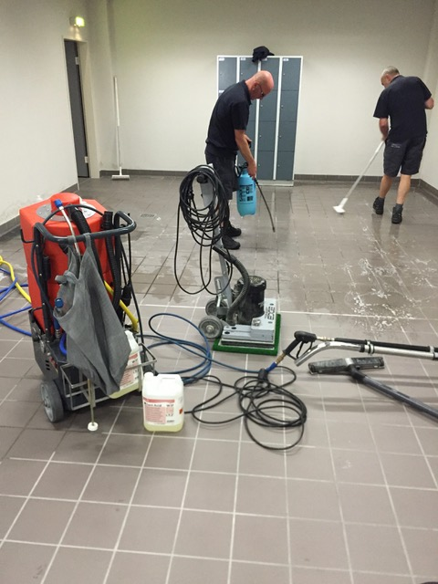 Reiniging Van Sanitaire Ruimtes Inclusief Voegen